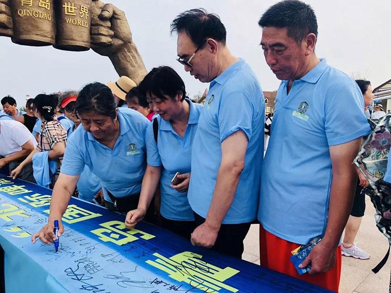 金沙滩啤酒城再掀狂欢热潮 北京千人团应约而来