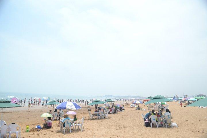青岛金沙滩一日游