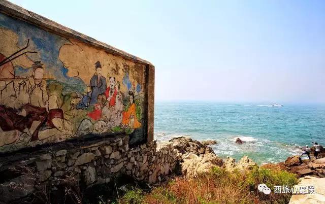 青岛西海岸度假选灵山岛和竹岔岛